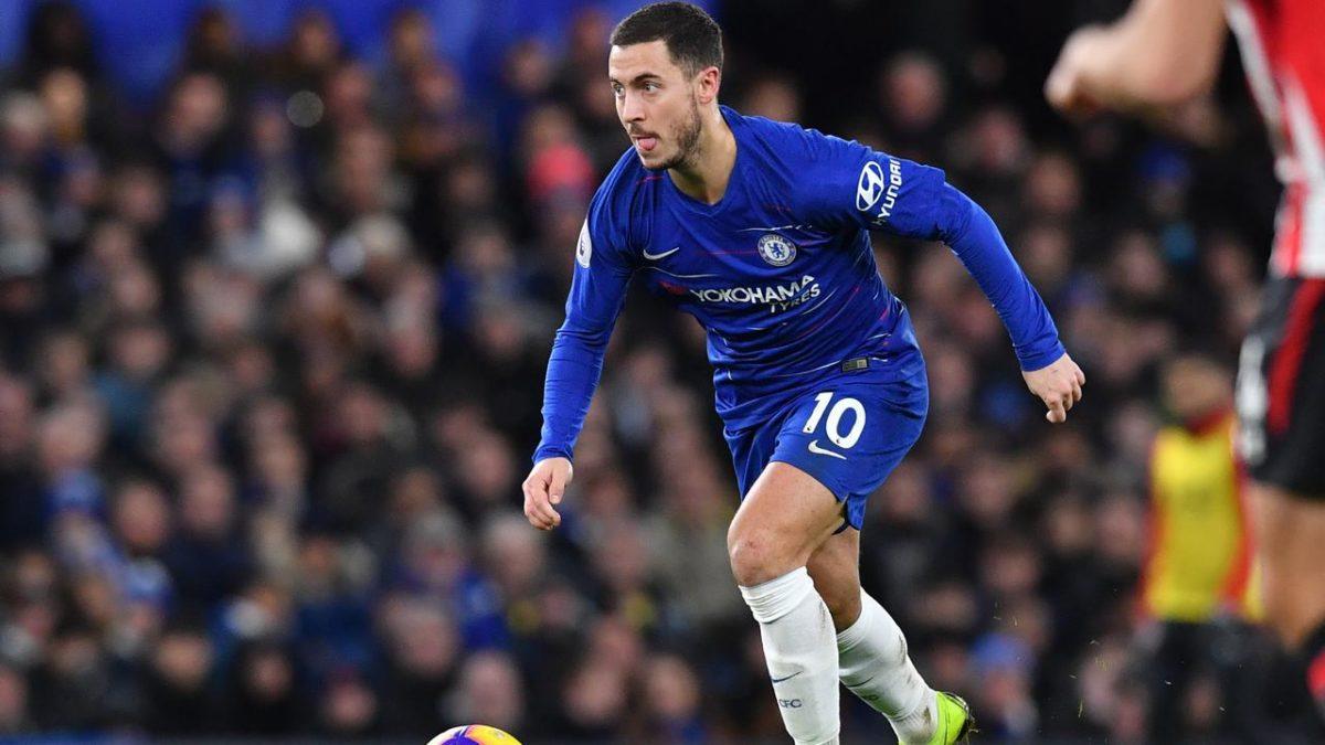 Digoda Real Madrid, Hazard Takkan Perpanjang Kontrak di Chelsea