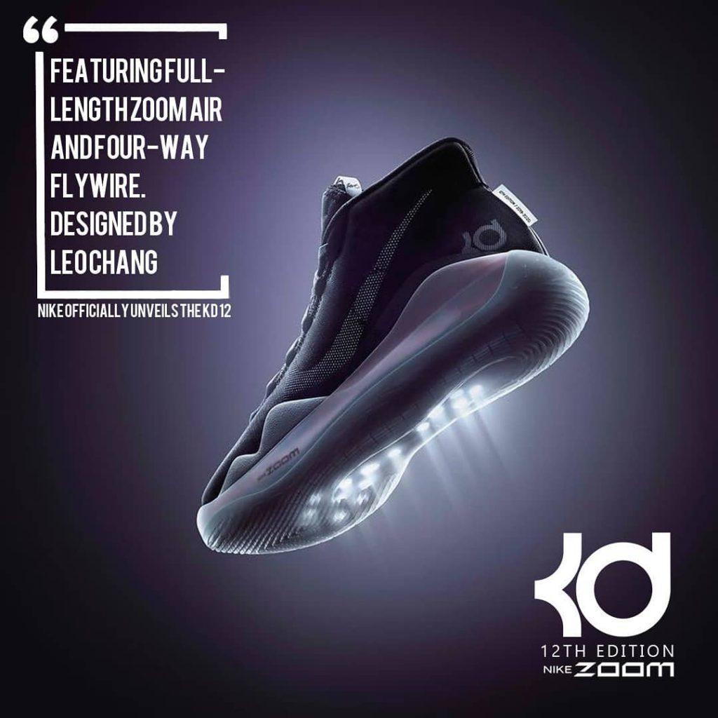 32db448ad5d Pada 1 April 2019 Nike secara resmi meluncurkan sepatu signature terbaru  dari Kevin Durant yakni Nike KD12. Menerut kabar yang beredar