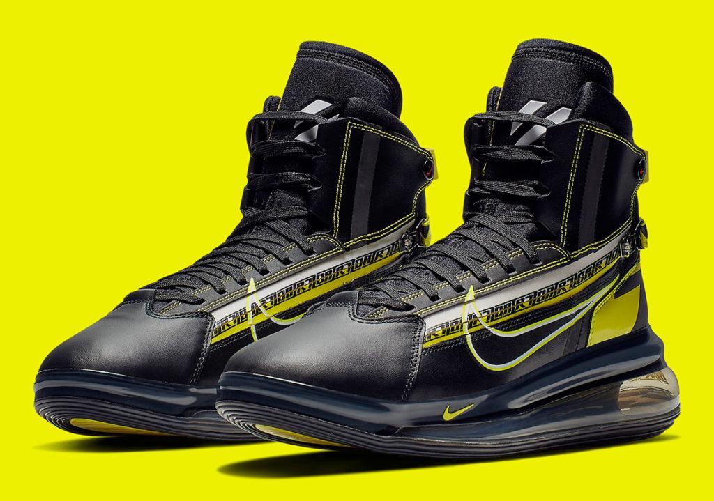 """Nike Air Max 720 """"Saturn For All Star"""" Dengan Elemen"""